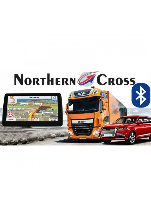 GPS НАВИГАЦИЯ NORTHERN CROSS NC-712S EU FM LIMITED EDITION